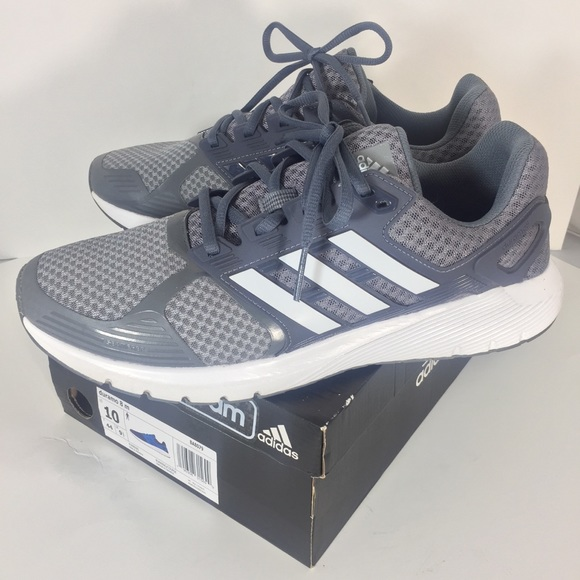 new product 984a3 7c0d1 adidas Other - Adidas Duramo Running Sneakers Sz 10 Grey White